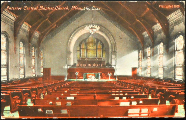 central baptist church memphis tn 1909